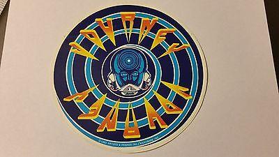 "Vintage 1983 Journey (Rock Band) Vinyl Sticker - BRAND NEW 6 1/8"" Diameter"