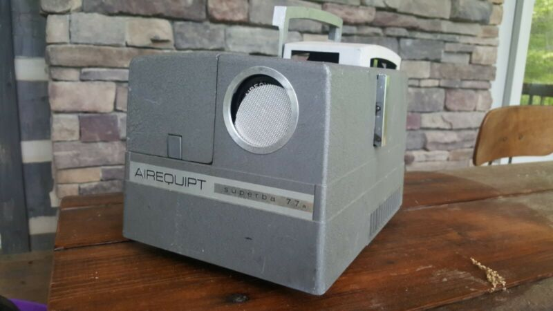 Airequipt Superba 77a Slide Projector for Slides Vintage