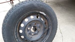 Excellent condition winter tires on rims