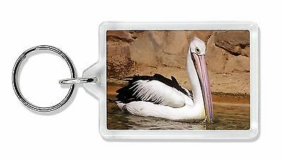 Pelican Print Photo Keyring Animal Gift, AB-68K