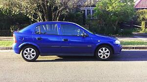 2005 Holden Astra Hatchback ELECTRIC BLUE Artarmon Willoughby Area Preview