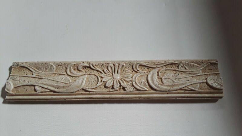 Exterior Architectural Pediment Art Nouveau Relief