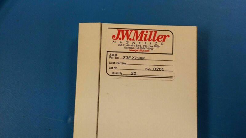 (10 PCS) 73F273AF JW MILLER Fixed Inductors 2700uH 5%, Obsolete