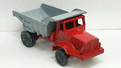 HUSKY Aveling-Barford Dump Truck, Original Vintage Die Cast Car