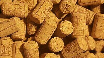 100 Wine Bottle Stopper (100 New Wine Corks Bottle Cork Bung Stopper DIY Wedding Craft Art)