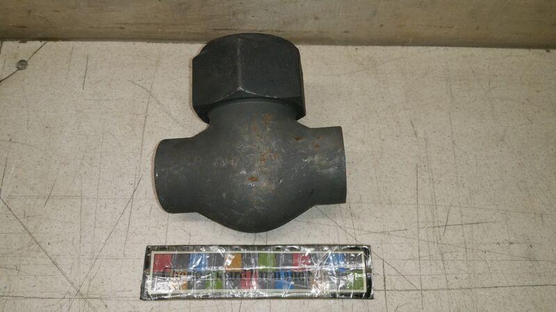"""NOS Vogt Flowserve Forged Check Valve SWB-9091 B-35795-R6 1"""" 4820-01-174-1156"""