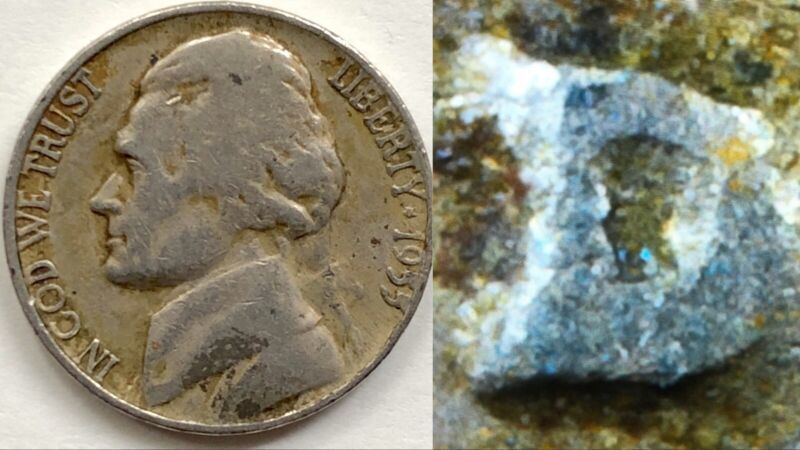 1955 D Jefferson Nickel Doubled Die & D Over S Mintmark Error (DDR-003/OMM-004)