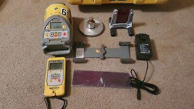 Trimble Spectra Precision Laser Dg613 Red Beam Pipe Laser W Rc803 Remote