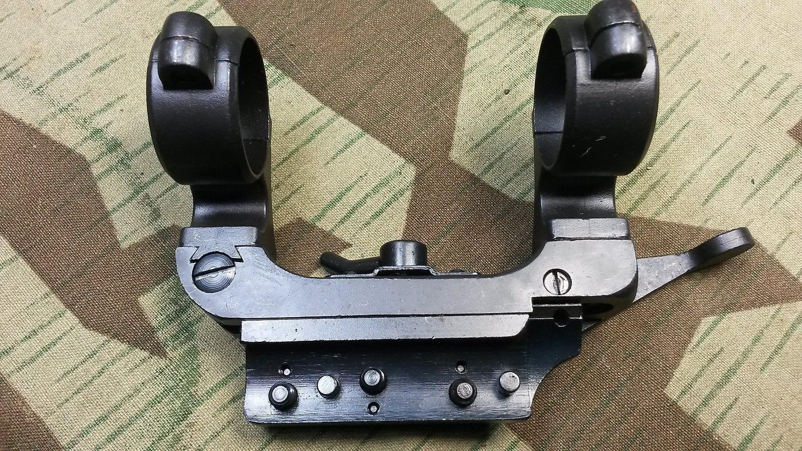German K98 Mauser Short Side Rail Sniper Scope Mount Complete SSR