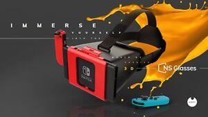 NS Glasses 3D VR Headset for Nintendo Switch