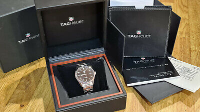 TAG Heuer Carrera Calibre 5, Full Set with Box and Papers
