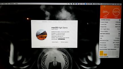 13inch Macbook Pro 2015 - Like New (128Gb)