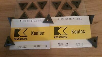 5 Pcs.tnmp 432 Kennametal Grade Kc910 Coated Carbide Inserts New In Box