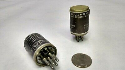 Two Webster Electric Microphone Transformers Model WST 417, Tested Good