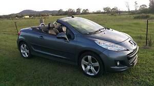 2010 Peugeot 207 Convertible (With Log Books) Beenleigh Logan Area Preview