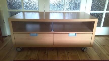 Ikea Besta TV Unit - Oak