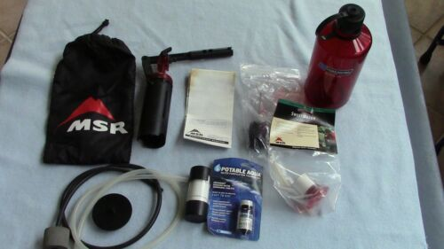 MSR SweetWater Micro Filter for Camping Backpacking
