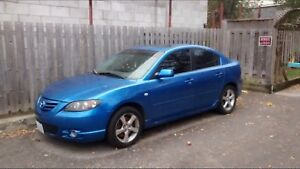 2006 Mazda 3 gt for parts or repair!!! Cheap!!