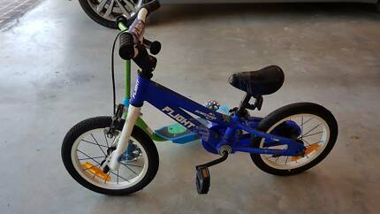 BOYS 14 Inch Bike and Scooter
