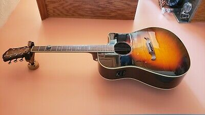 FENDER ACOUSTIC ELECTRIC 300CE 3TS excellent condition PROFESSIONAL SETUP