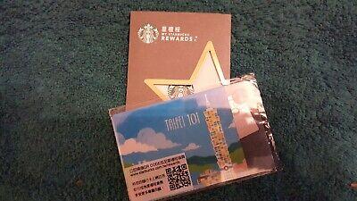 Starbucks Taiwan 2018 TAIPEI 101 Version 4 Gift Card SEALED Never Used US Seller