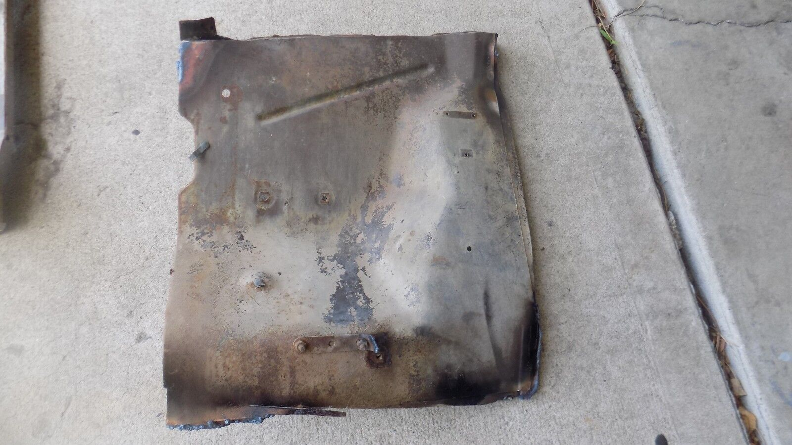 1968 1969 AMC REBEL BATTERY TRAY APRON NO RUST OR CORROSION DAMAGE