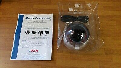 New Usa Scientific Sd Micro-centrifuge Mini-centrifuge 6000 Rpm 2631-0006