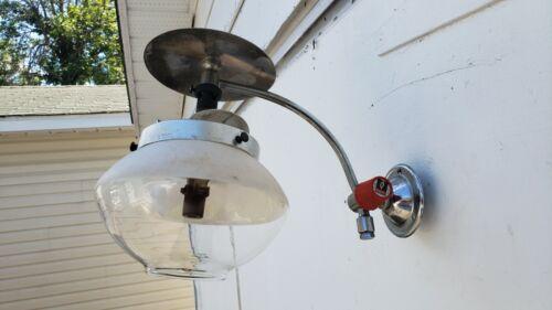 Vtg veritas butane propane gas lamp wall light ? made in England camping