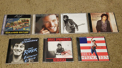 Bruce Springsteen - Set of 7 Expanded CDs 10 discs total - Born To Run/USA/River