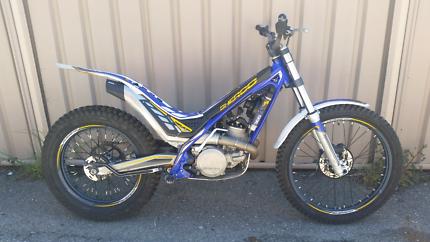 Sherco ST300 Trials bike 2015 model