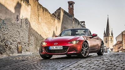 Mazda MX-5 in Frontansicht