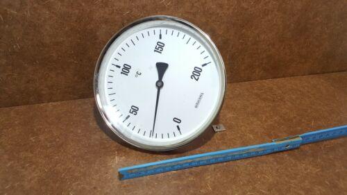 BITHERMA Thermometer 0-200°C  Ø160x19X110mm Nicht Gebraucht-Unbenutzt