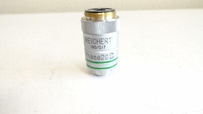 Reichert 1600.17 Phase 20 Dm 0.40 Microscope Objective