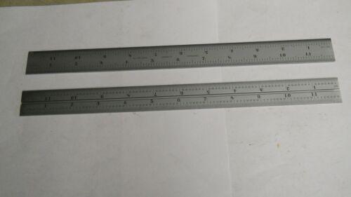 Starrett  CB12-16R  12 inch Grooved Rule16 grad  NEW