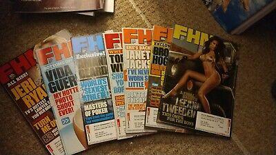 fhm magazine lot of 7 brand new