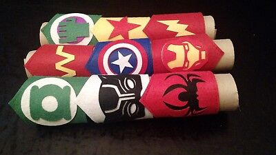 Black Panther For Kids (9 Pc Superhero Party Bracelets For Kids Includes the BLACK PANTHER Super)