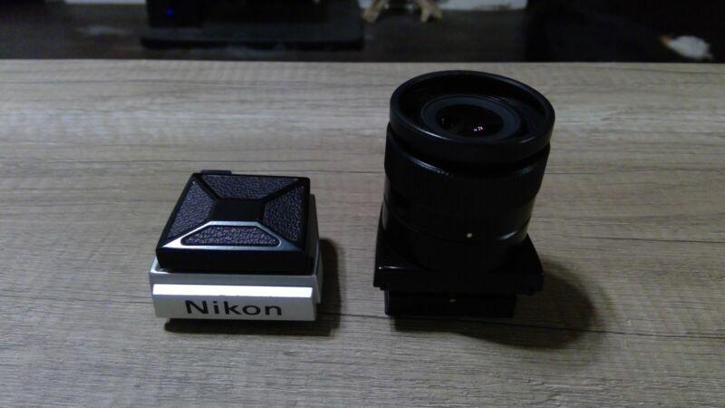 nikon dw-1 and dw-2 waist level finder
