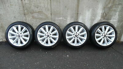 "2019 Mini Cooper Clubman 17"" Alloy Wheels Rims w/ 225/ 45R 17 Tires Set of 4 OEM"