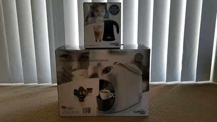 Caffitaly Coffee Machine & Milk Frother