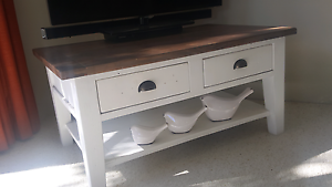 French Provincial/Shabby Chic, 2 Drawer Coffee Table/TV Stand Lane Cove North Lane Cove Area Preview