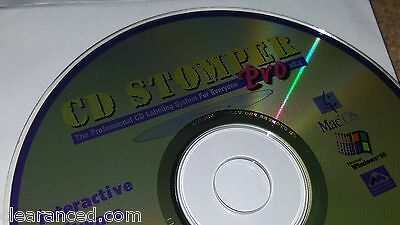 Cd Stomper Pro Cd   Dvd Design Software Templates Clipart Labels Inserts Case
