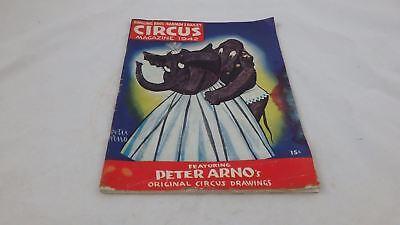 1942 Ringling Bros-Barnum Bailey Magazine War Years Peter Arno Pin Up & Cartoons (Pin-up-cartoons)