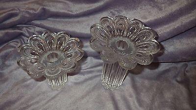 Подсвечники и аксессуары Pair Vintage Glass