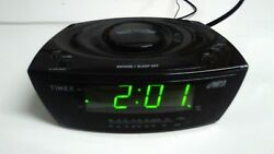 Timex AM/FM Alarm Clock Radio w/MP3 Aux Line Multi-Directional Sound Chamber