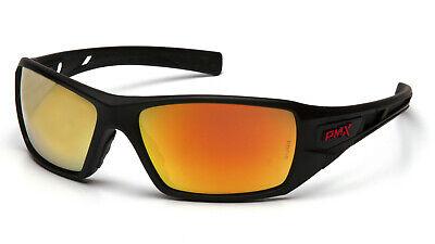 Pyramex Velar Safety Glasses Sunglasses Work Eyewear Black Frame Ice Org (Frame Safety Glasses Sunglasses)