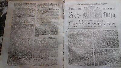 1806 38 William Pitt London Begräbnis Lord Nelson / Sturm Cuxhaven