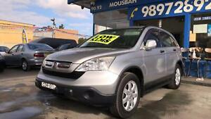2007 Honda CR-V ! Fully Serviced & Inspected ! Low Kms ! Like New ! Granville Parramatta Area Preview