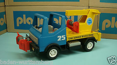 Playmobil 3453 vintage series tow truck for collectors mad ein Germany toy