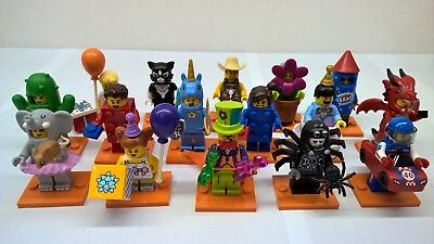 Lego Collectible Minifigures Series 18 Costume Party Sealed bags Choose figures