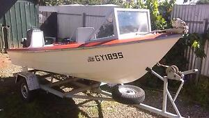 boat and trailer with motor Ouyen Mildura City Preview
